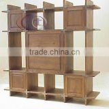 Book shelves Solid teak Wood