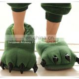 Factory customize high quality plush paw shoes