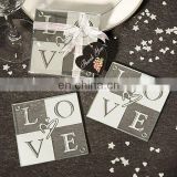 Love Design Glass Coasters