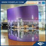 Advertising circular led light display