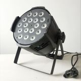 Stage Light Stand Color mixing 4IN1 RGBW 18*10w Par led stage lighting with dmx control