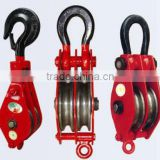 wire rope snatch block