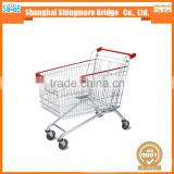hot selling good quality metal shopping trolley for European market