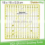 Transparent Acrylic Quilting and Sewing Ruler