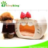 big mouth cat pet house warm and soft