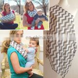 stripe pattern maternity nursing breastfeeding cover