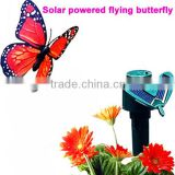 2013 new solar powered flying butterfly