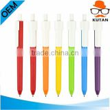 New Hot Selling Click action Promotional plastic ball pen