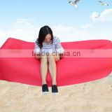 2017 high quality inflatable sleeping bag air filling hangout lazy bag sofa chill bag for beach air bed