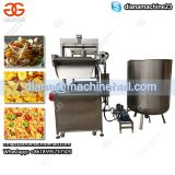 Continuous Belt Pork Skin Frying Machine|Broad Beans Fryer