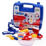 Hot sale kid playing pretend & play doctor set Doctor role play costume plastic medical equipment toys