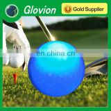 Hot selling sports luminous logo printing golf ball glovion led flashing golf ball luminous golf ball