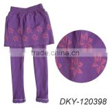 lovely seamless pantskirt for girl