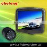 3.5 inch car back seat lcd monitor rear view camera system with 4 way car reverse camera system