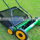20'' Hand Push Reel Lawn Mower with Grass box