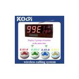 K-998A customer numbering system display number counter system