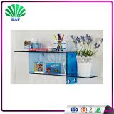 Fashion Acrylic Slatwall Shelf Clear Lucite Bookcase Plexiglass Bookcase For Sale