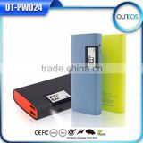Quick charge mobile phone battery 11000mah power bank with flashlight