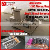 Low price!Incense stick counting and sealing machine/incense stick packaging machine/incense flow packing machine