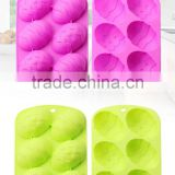 The Easter Egg Shape Silicone Cake Mould