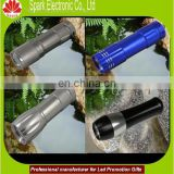 spark new 2015 aluminum led rechargeable flashlight with strap