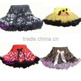 skull pirate black soft chiffon girl tutus spring wholesale min mouse girls tutu ladybug petti kids tutu dress