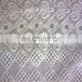 cotton organza chemical lace fabric for wedding dress