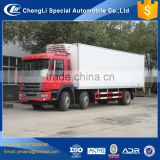 Cheap price 20 ton 25 ton freezer heavy duty refrigerated trucks for sale