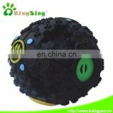Med. tire food ball w/sound pet toy
