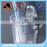 toothbrush <b>holder</b> with <b>suction</b> <b>cup</b>