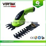 3.6V 2-in-1 <b>cordless</b> <b>grass</b> shear and hedge trimmer