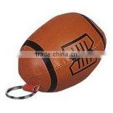 Wholesale soft PVC rugby keychain