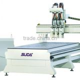 HEFEI Suda CNC Multistage CNC Router woodworking cutter wood handle machine--MG2030C