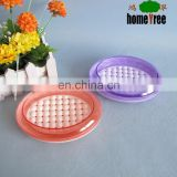 2015 New Light And Hygienic Detachable Oval Plastic Soap Dish With Drain Wholesale
