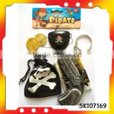 pirate gun skull pirate pocket with high quality