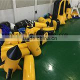 2016 adult and children inflatable CS games, inflatable air bunker shooting (approved EN 71)