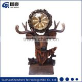 Hottest classic cheap price flower shaped table clock