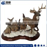 Shenzhen custom handy house resin craft figurine