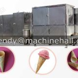 full automatic waffle ice cream cone production line manufacturer