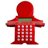 Funny shape portable mini calculator