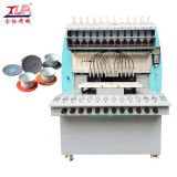 12 color automatic Coloration coffee and tea cup mat making machine