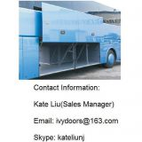 Bus luggage compartment door mechanism(PL100 pneumatic control and ML100 manual control)