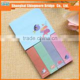 cheap sales colorful paper note pad for school