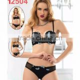 Women both nightdress and panty set multi-use push up bras made in Turkey
