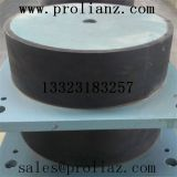 What is the difference between the plate rubber support and the teflon rubber support
