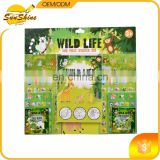 2016 best selling Wild life Sticker Sets