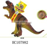 B/O Educational rubber 3D simulation dinosaur model for sale