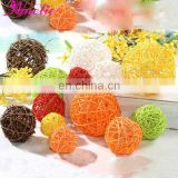 A02RB Colorful Rattan Ball for Holiday Decoration