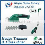 2 In 1 <b>Cordless</b> <b>Grass</b> Trimmer / <b>Grass</b> Shear / Hedge Trimmer