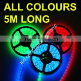 12V multicolor led light strip with CE&RoHs